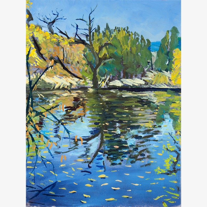 Leaves on the Water, 2018
