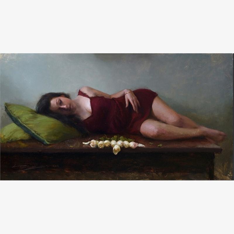 Lying in Burgundy
