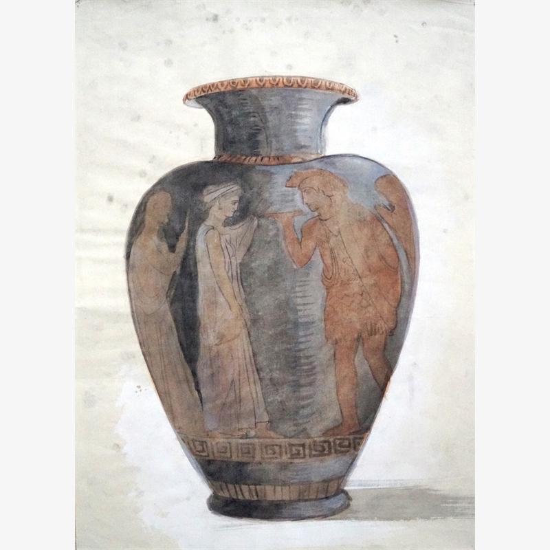 Greek Vase I, 2019