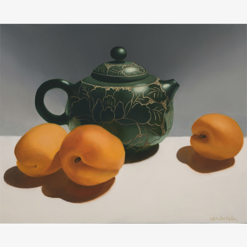 Teapot with Apricots