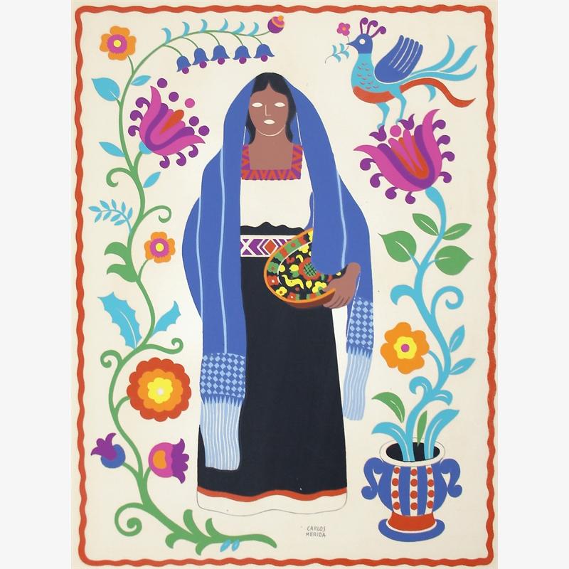 Purépecha (Tarasco), Estado de Michoacán, 1945