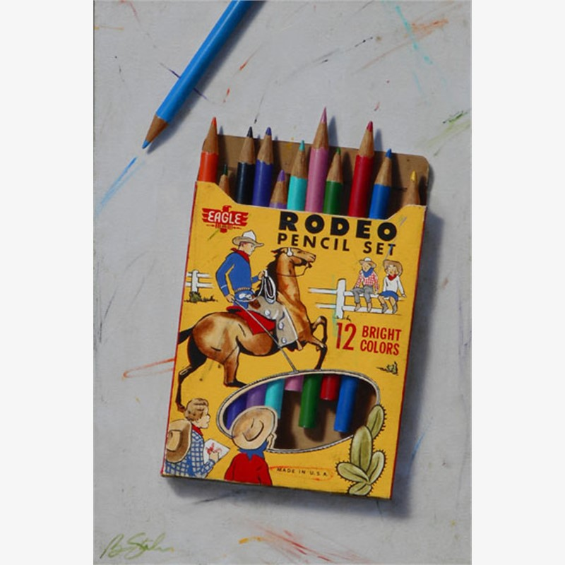 Rodeo Pencil Set, 2018