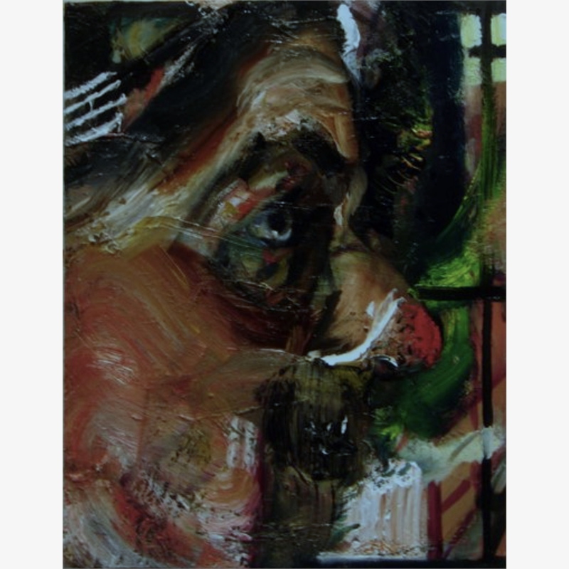 Portrait 4 by Natalie Frank