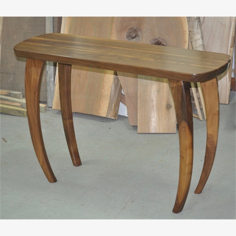 Zebra Wood Hall Table