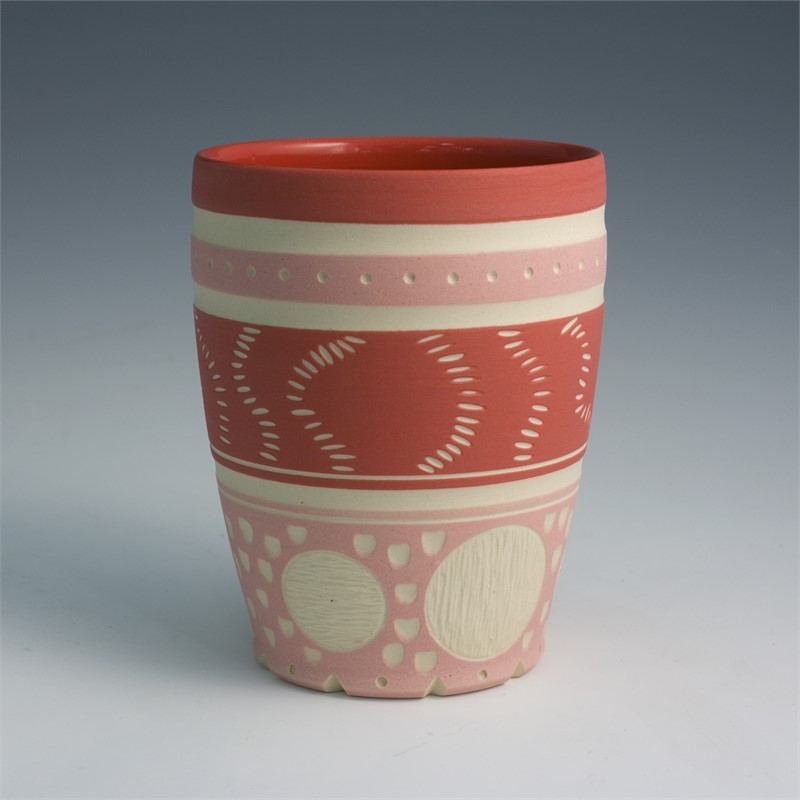 Cup (Red/Dots), 2019