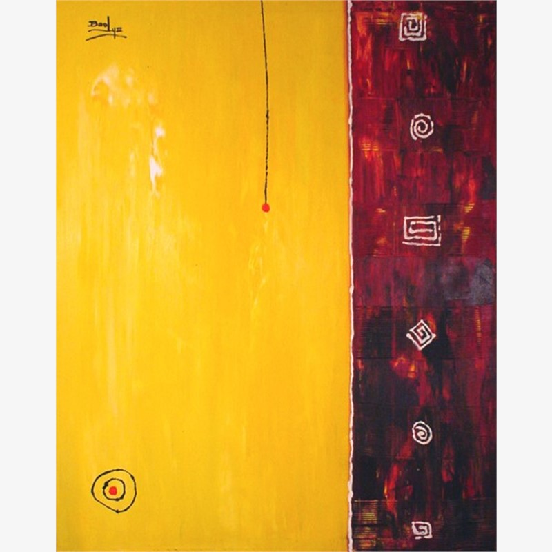 Composition in Red and Gold, 2003