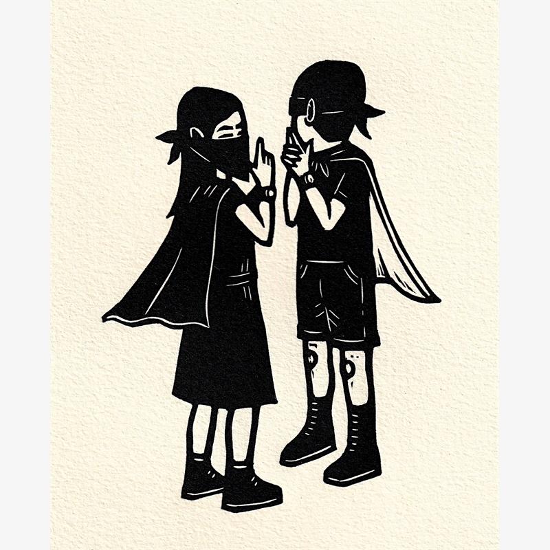 Untitled (Pareja Ninja) (43/50), 2019
