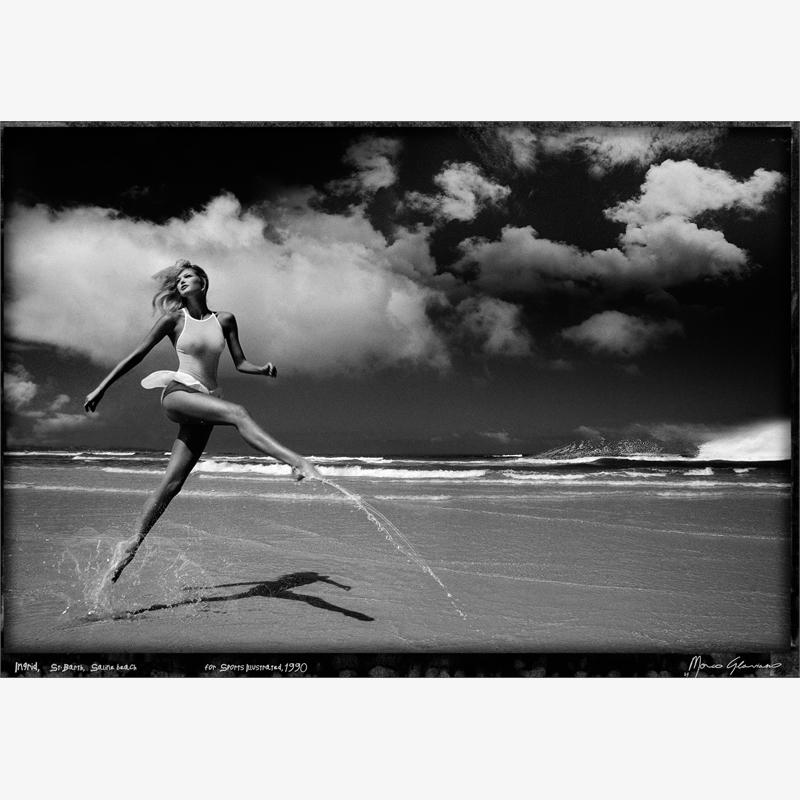 Ingrid, St Barth, Saline Beach (1/7), 1990
