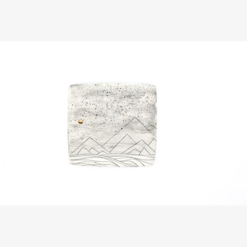 Tile (Foggy Mountains), 2020