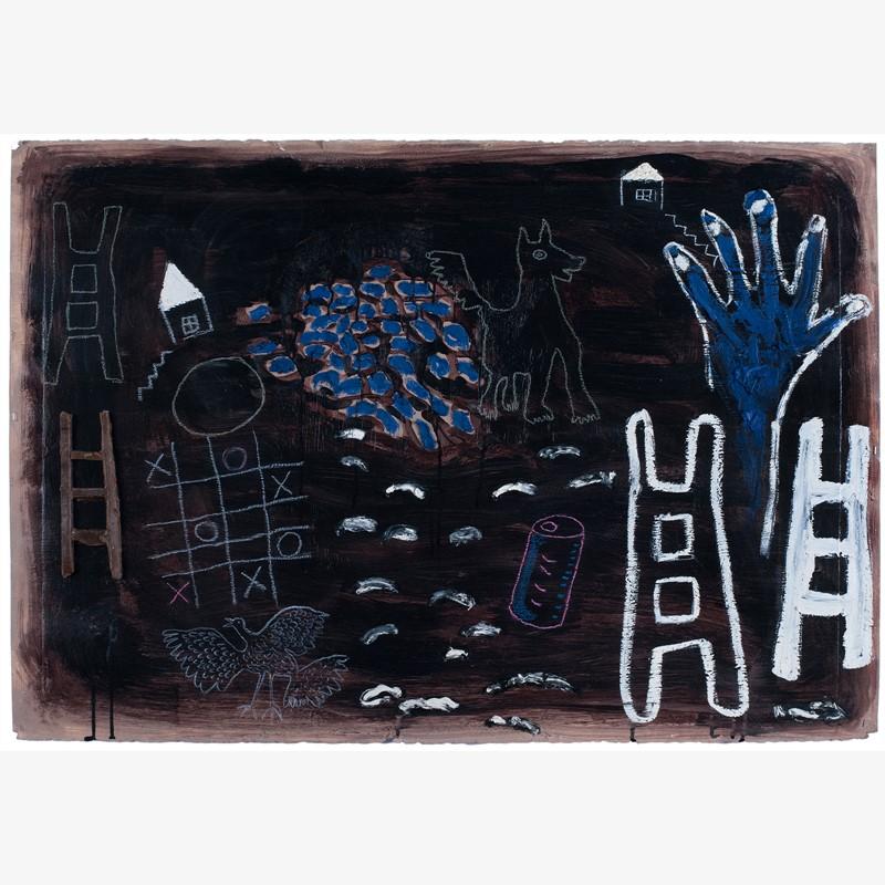 Blue Hand, 2008