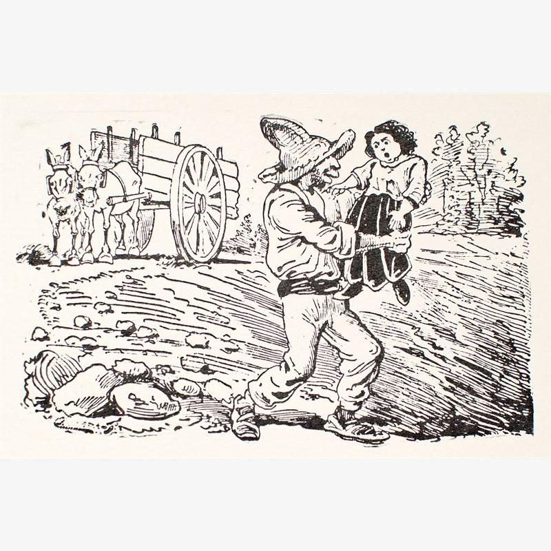 Decimas: Los roba-chicos en acción, ca. 1880-1910