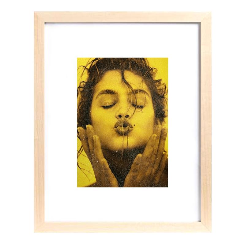 Cindy Kiss (Yellow) (1/25), 1991