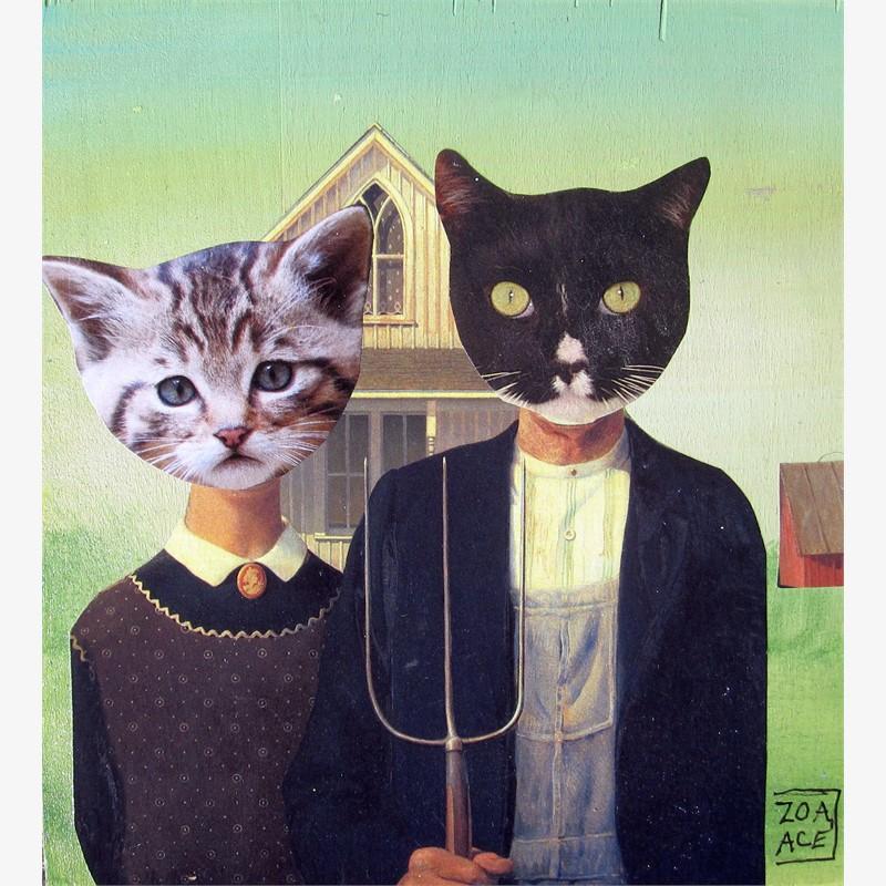 Barn Cats, Gothic, 2018