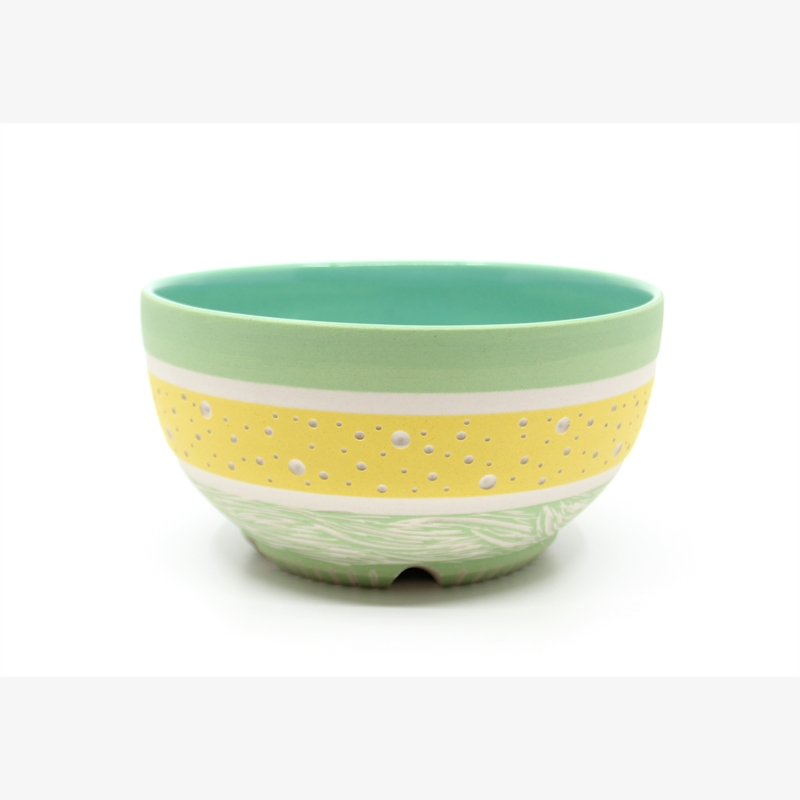 Yellow & Green Bowl, 2019