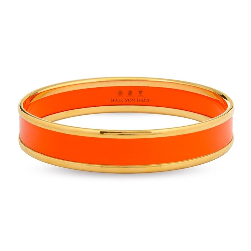 Orange & Gold Bangle by Halcyon Days