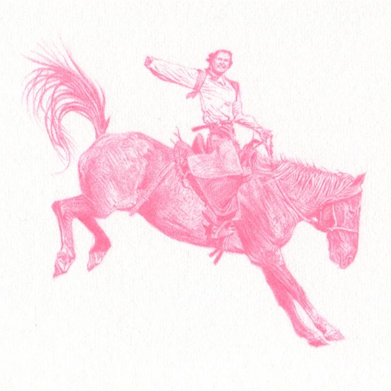 Untitled (Bronc Rider AOP-3756), 2020