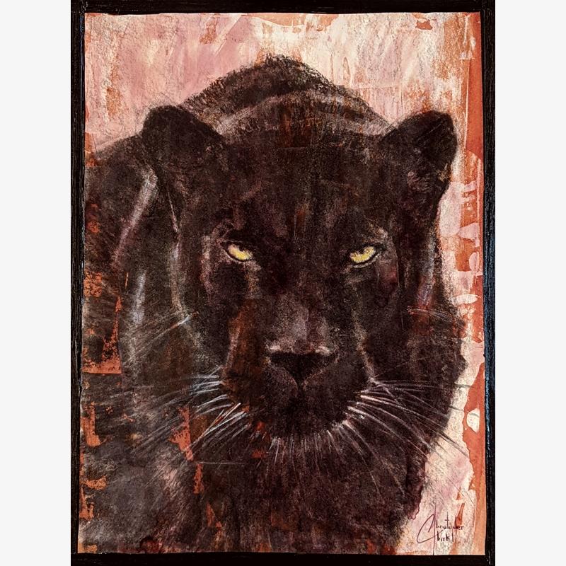 Sepia Cats, Black Panther