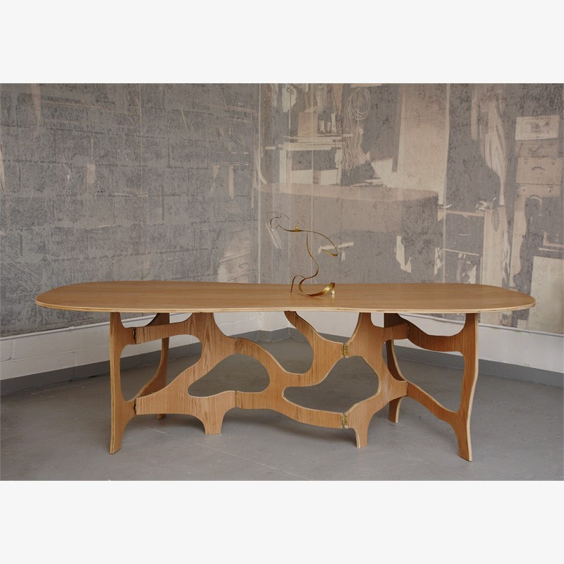 """Meanders""  Dining Table , 2015"