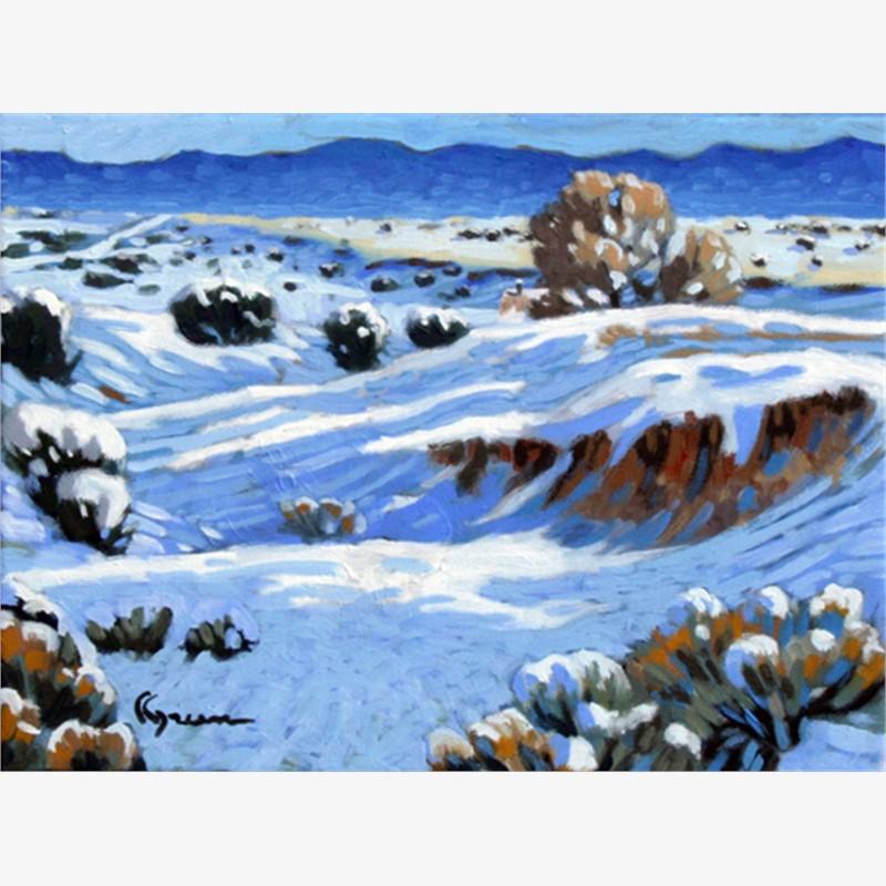 Winter Foothills