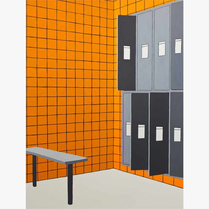 Locker Room #2, 2019