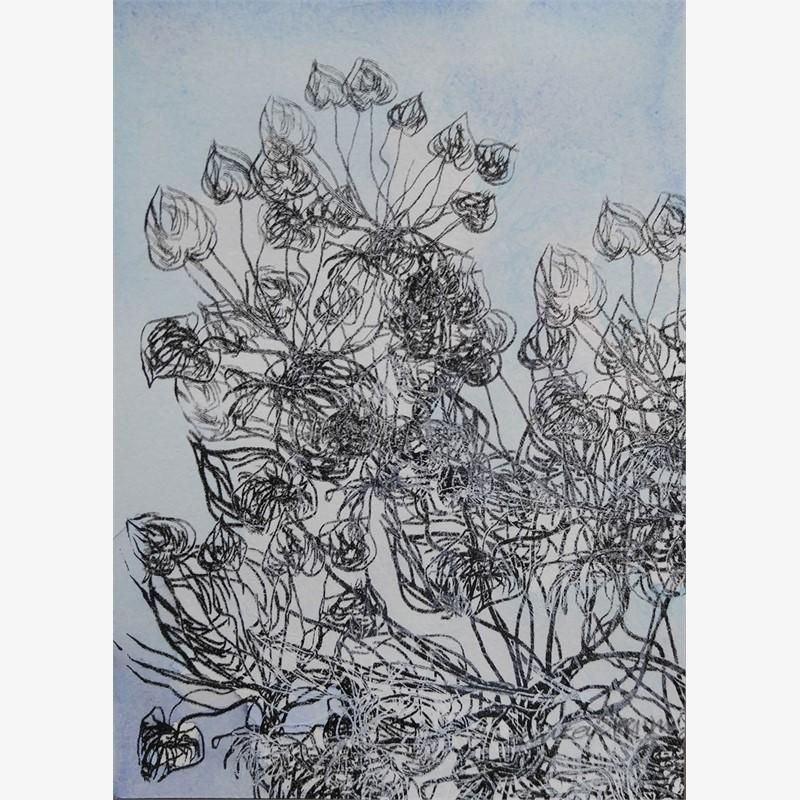 Blue Garden iii, 2019