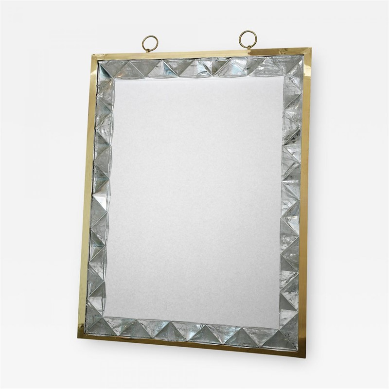 Mirror framed in rock crystal , 2019