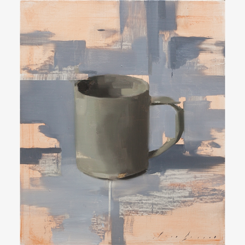 Dark Cup on Grey
