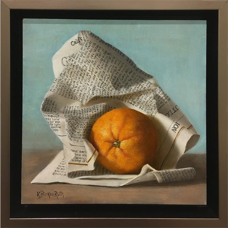 Wrapped Orange, 2018