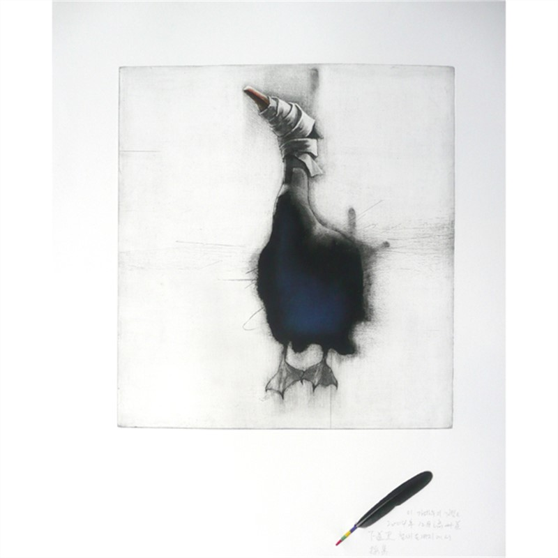 A Blind Bird: Comorant (3/10)