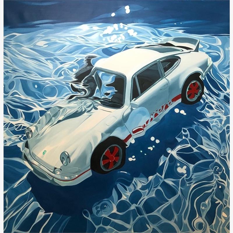 1972 Porsche 911 Carrera RS 2.7 Coupé Underwater