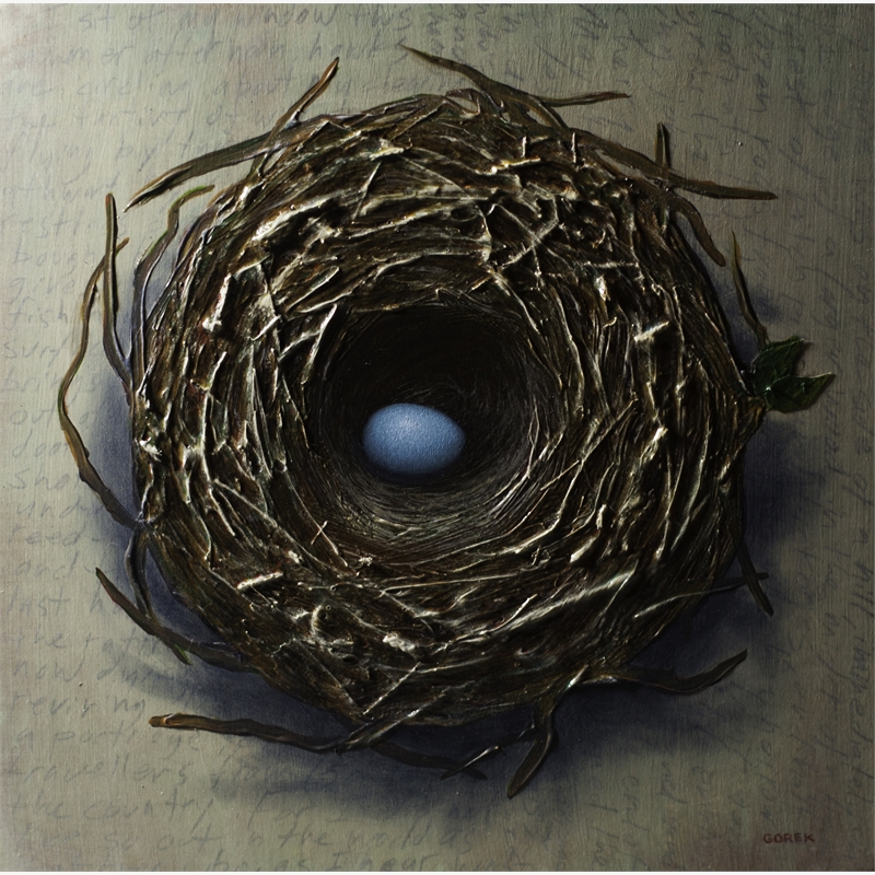 Bird's Nest, One Egg