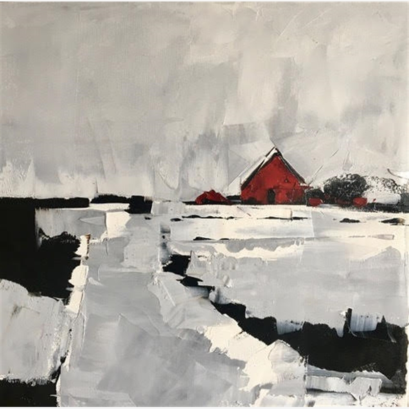 Red House with Grey