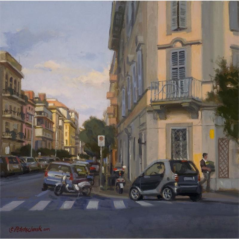 Roman Side Street