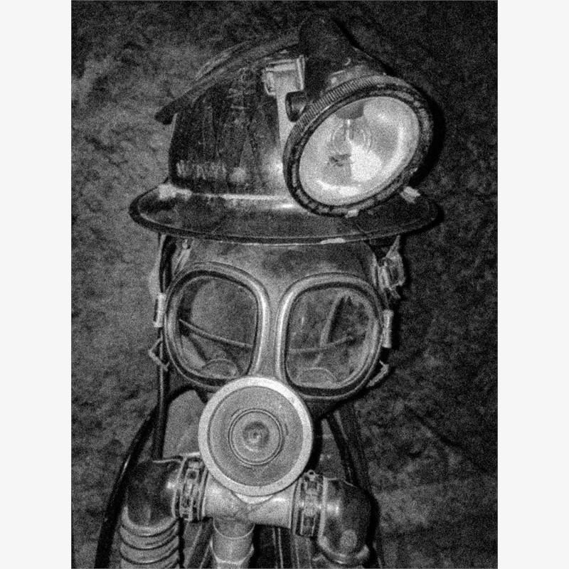 Miner's Death Mask (1/25), 2018
