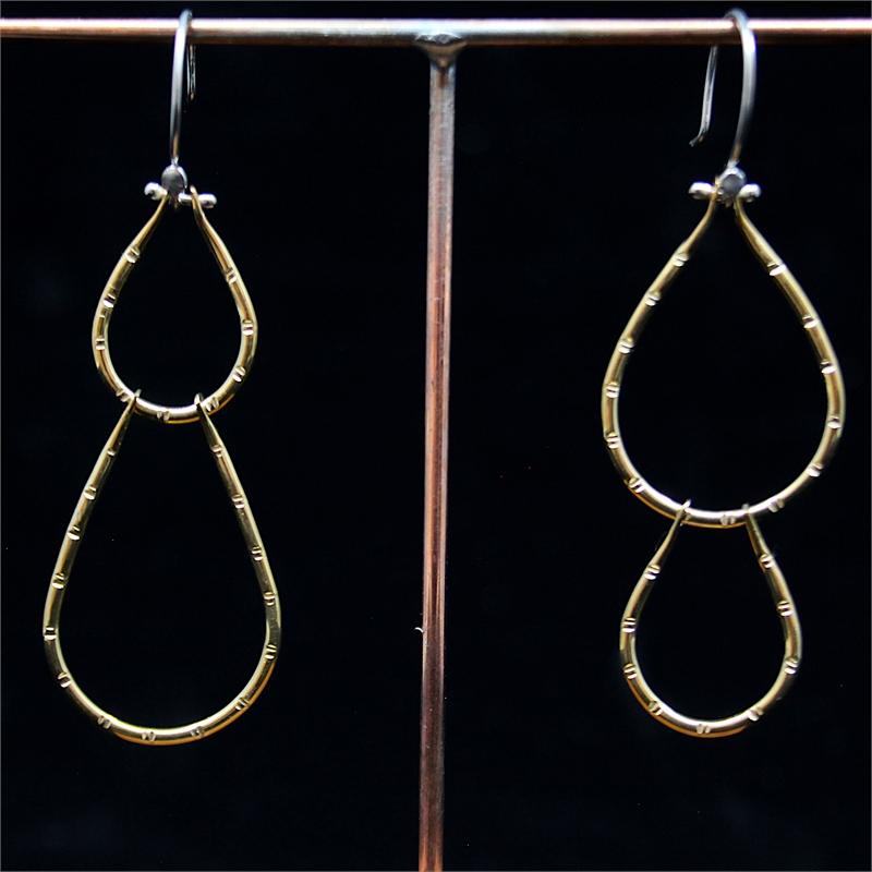Asymmetrical Nopal Earrings
