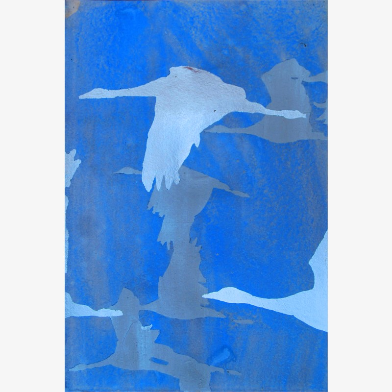 Blue Together B - SOLD, 2016