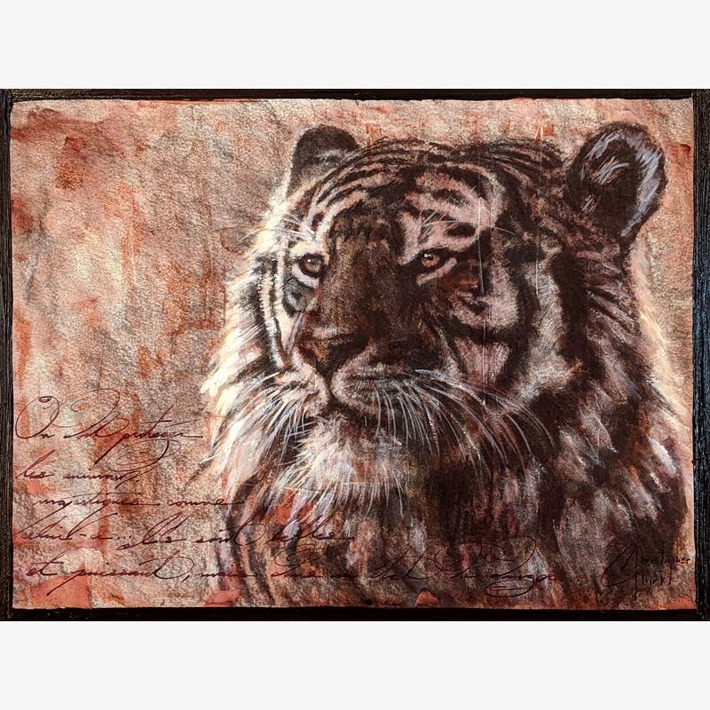 Sepia Cats, Tiger