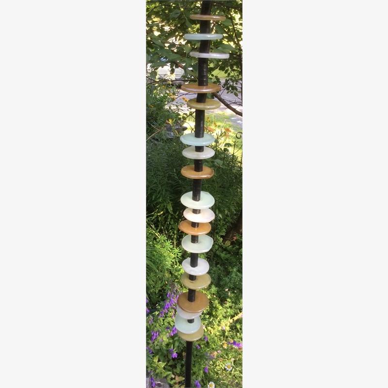 Disc Column (Beige)