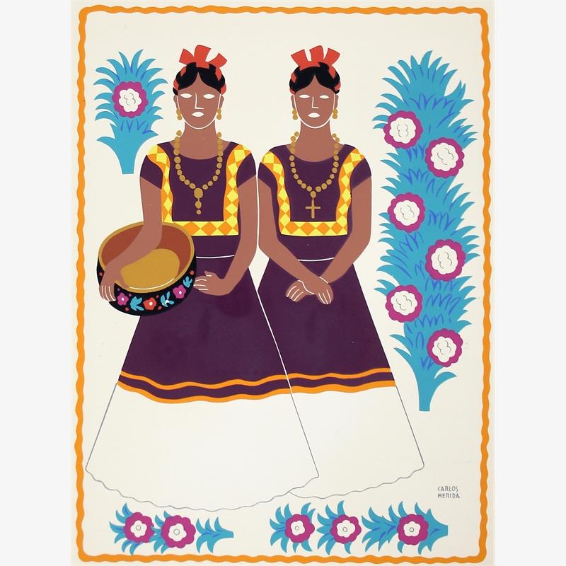 Tehuanas, Estado de Oaxaca, 1945