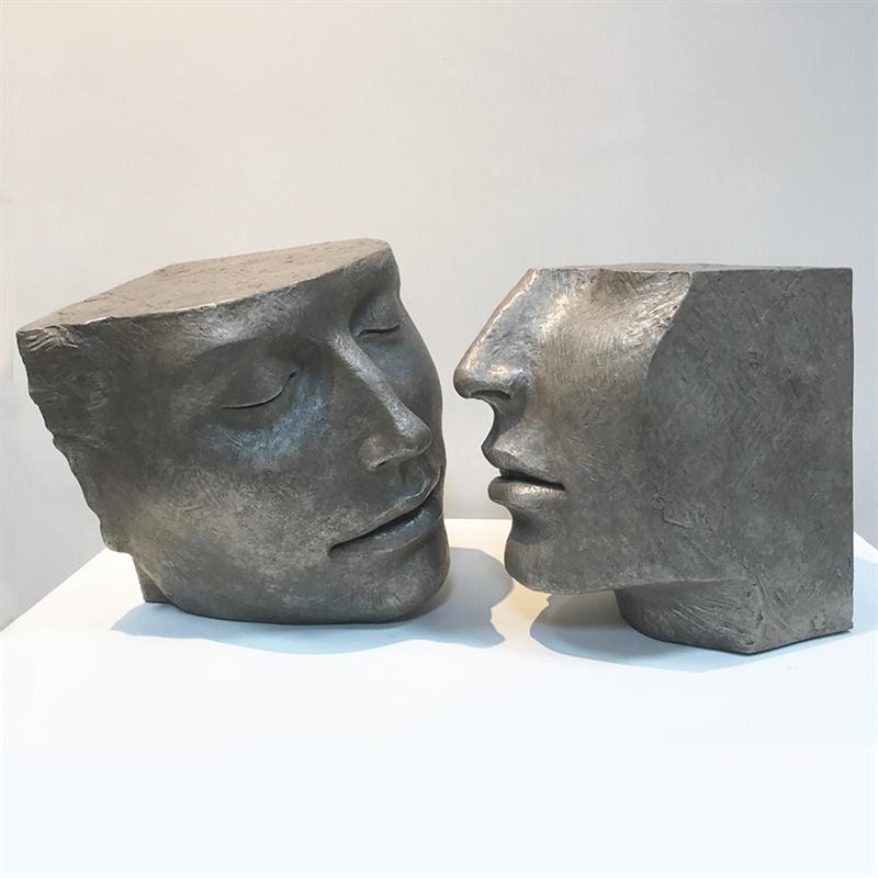 Together Series III Near Kiss, 2020