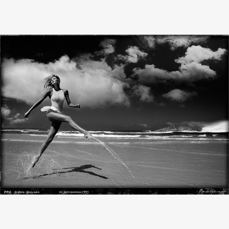 Ingrid St Barth  by Marco Glaviano