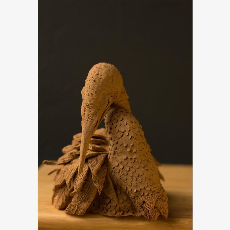 Untitled (clay bird)
