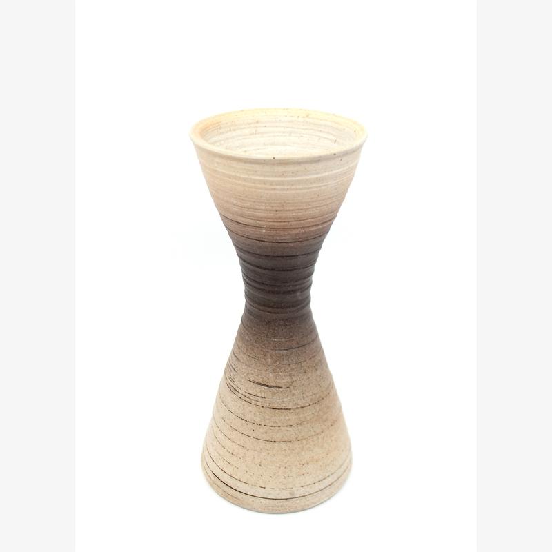 Brown/White Gradient Vase IV, 2019