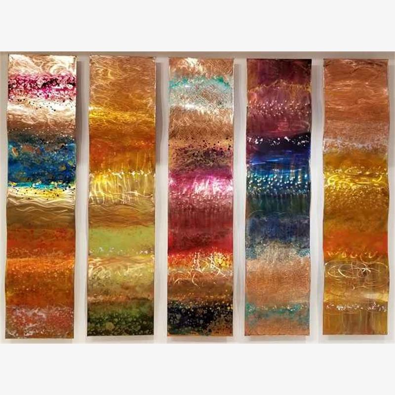 "Wavy 5 panels - 55"" (Edition A)"