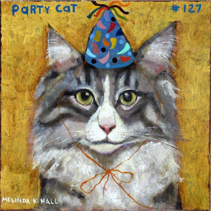 Party Cat #127, 2019