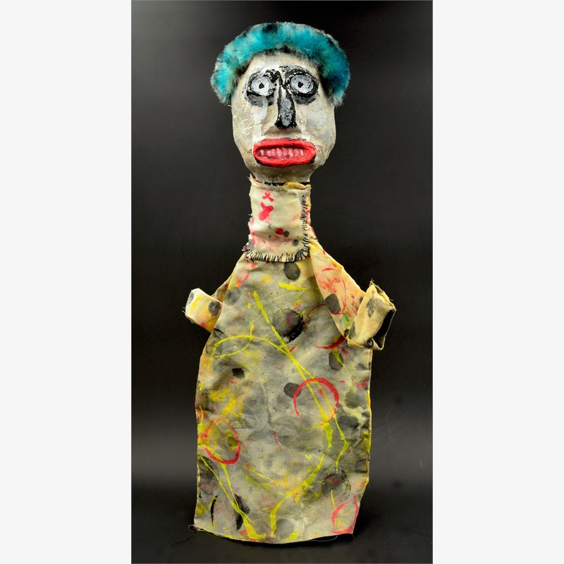 Clown Apocalypse (blue #7), 2018
