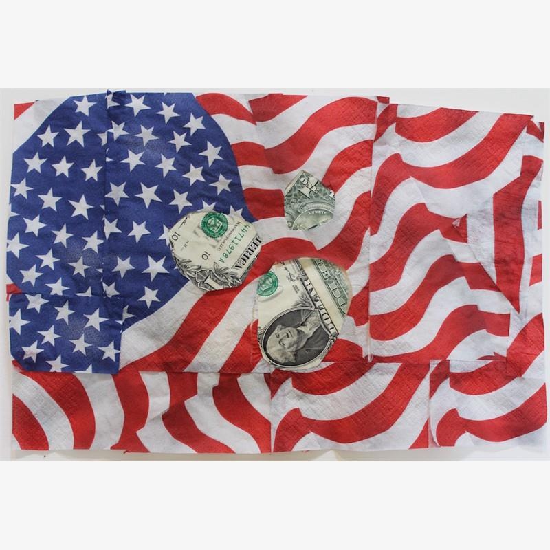 Deborah Mersky, Money Meteor Blast Flag