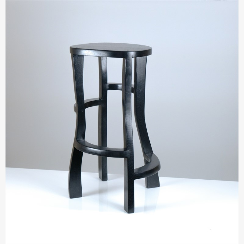 """ Meanders""  Bar stool  by Jacques Jarrige"