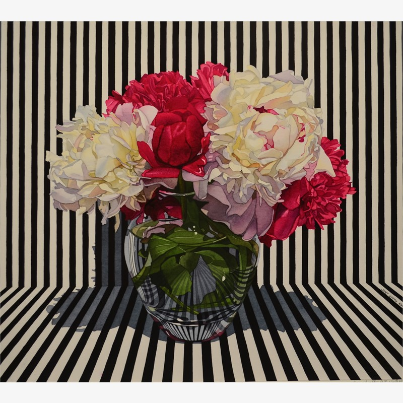 Peonies with Stripes (TBD/50)