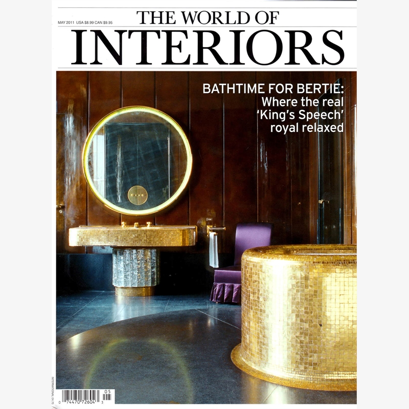 The World of Interiors, May 2011 - Jacques Jarrige